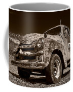A Little Wear - Sepia Coffee Mug