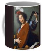 A Lute-player Coffee Mug