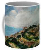 A Maltese Country Landscape Coffee Mug