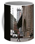 A Man And A Bridge Coffee Mug