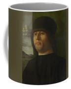 A Man In Black Coffee Mug