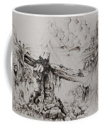 A Man Of Sorrows Coffee Mug by Rachel Christine Nowicki