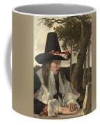 A Man Reading, Anonymous, C. 1660 Coffee Mug