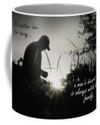 A Man's Heart Coffee Mug