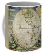 A Map Of The Western Coffee Mug by Victor R. Boswell, Jr