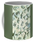 A Maritime Design Coffee Mug