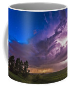 A Massive Thunderstorm Lit Internally Coffee Mug