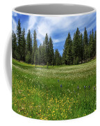 A Meadow In Lassen County Coffee Mug