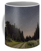 A Meteor And The Big Dipper Coffee Mug