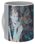 A Modern Breakfast Girl Coffee Mug