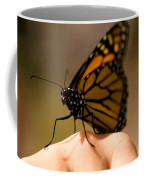 A Monarch Butterfly At The Butterfly Coffee Mug