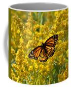 A Monarch World Coffee Mug