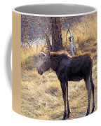 A Moose In Early Spring  Coffee Mug