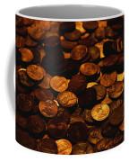 A Mound Of Pennies Coffee Mug