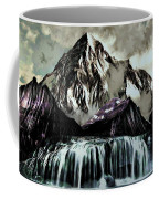 A Mountain To Think About Coffee Mug