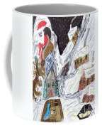 A Mountain Village Coffee Mug