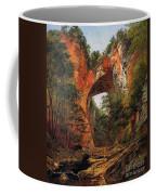 A Natural Bridge In Virginia Coffee Mug by David Johnson