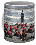 A Navy Seal Instructor Assists Students Coffee Mug
