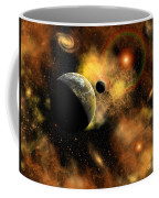 A Nebulous Star System In A Distant Coffee Mug