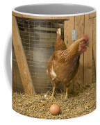 A New Hampshire Red Hen Chicken Coffee Mug