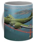 A New Kind Of Bird Over California - Oil Coffee Mug