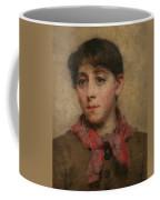A Newlyn Maid Coffee Mug