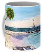 A Nice Day At The Beach Coffee Mug