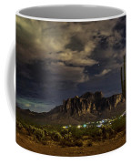A Night In The Superstitions  Coffee Mug