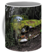 A Non Rolling Car Gathers Some Moss Coffee Mug
