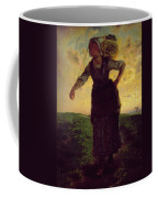 A Norman Milkmaid At Greville Coffee Mug