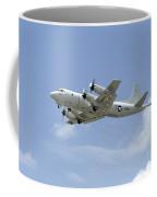 A P-3c Orion Aircraft Takes Coffee Mug