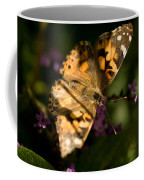 A Painted Lady Butterfly At The Lincoln Coffee Mug