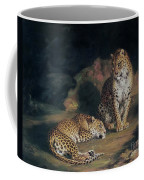 A Pair Of Leopards Coffee Mug