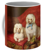 A Pair Of Poodles Coffee Mug