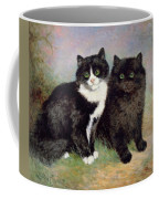A Pair Of Pussy Cats Coffee Mug
