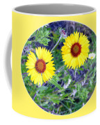 A Pair Of Wild Susans Coffee Mug