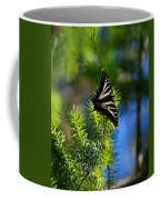 A Pale Swallowtail Vertical Coffee Mug