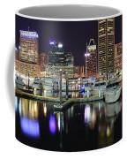 A Panoramic Baltimore Night Coffee Mug