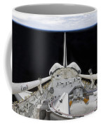 A Partial View Of Space Shuttle Coffee Mug by Stocktrek Images