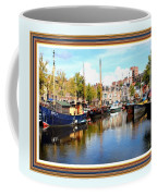 A Peaceful Canal Scene - The Netherlands L A S With Decorative Ornate Printed Frame. Coffee Mug