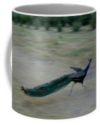 A Peacock On A Hog Farm In Kansas Coffee Mug