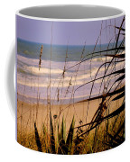 A Peek At The Shore Coffee Mug