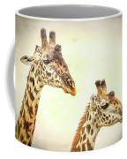 A Perfect Pair- Masai Giraffe Coffee Mug