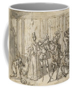 A Performance By The Commedia Dell'arte Coffee Mug
