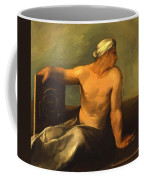A Personification Of Geometry Coffee Mug