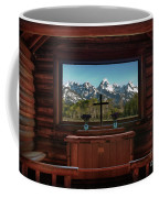 A Pew With A View Coffee Mug