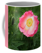 A Pink Poppy Portrait. Coffee Mug