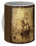 A Pirate Looks At Forty Schooner Wharf Coffee Mug