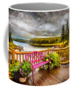 A Place To Relax And Enjoy Coffee Mug