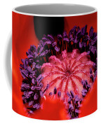 A Poppy's Heart Coffee Mug